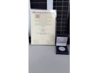 德國紐倫堡國際發明展 銀牌獎